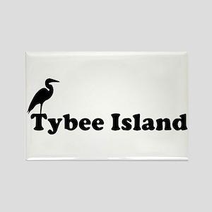 Tybee Island GA - Beach Design. Rectangle Magnet
