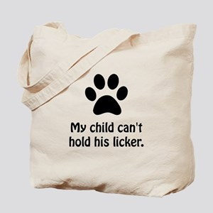 Pet Hold Licker Tote Bag