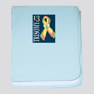 Trisomy 13 Awareness 3/13/2012 baby blanket