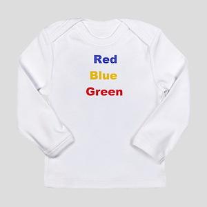 Stroop Effect Long Sleeve Infant T-Shirt