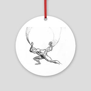 Atlas Ornament (Round)