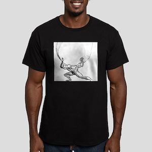 Atlas Men's Fitted T-Shirt (dark)