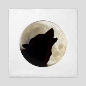 Wolf Moon Queen Duvet