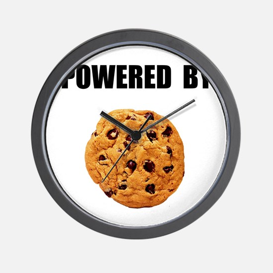 Powered By Cookie Wall Clock