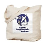 About Greyhounds Podcast Tote Bag