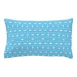 Blue Marine Fish Pillow Case