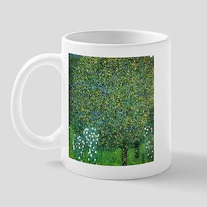 Gustav Klimt Roses Under The Tree Mug