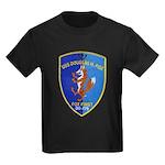 USS DOUGLAS H. FOX Kids Dark T-Shirt