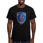 USS DOUGLAS H. FOX Men's Fitted T-Shirt (dark)