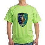 USS DOUGLAS H. FOX Green T-Shirt