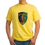 USS DOUGLAS H. FOX Yellow T-Shirt