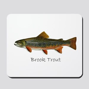 Painting of Brook Trout Mousepad