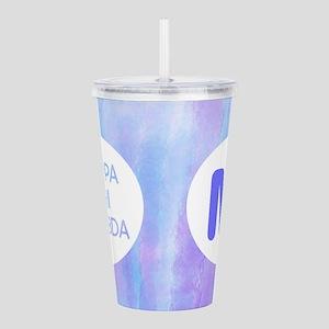 Kappa Phi Lambda Acrylic Double-Wall Tumbler