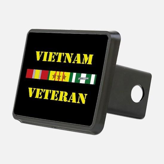 Vietnam Veteran 3 Star Hitch Cover