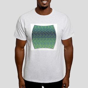 Subliminal Blue Sun Ash Grey T-Shirt