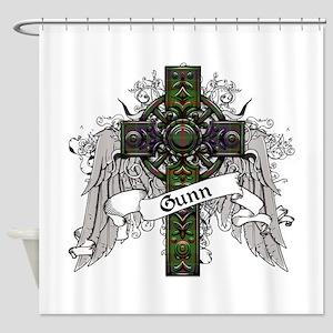 Gunn Tartan Cross Shower Curtain