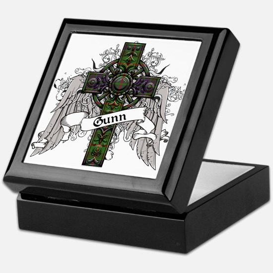Gunn Tartan Cross Keepsake Box