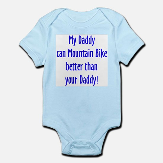 daddy mountain bike Body Suit