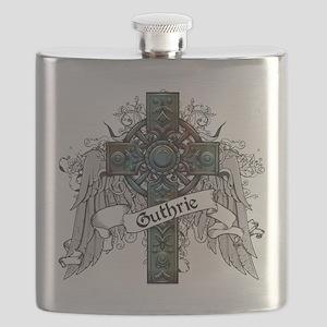 Guthrie Tartan Cross Flask