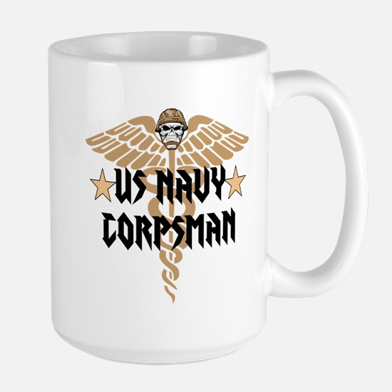 US Navy Corpsman Large Mug