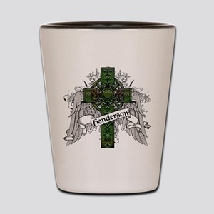 Henderson Tartan Cross Shot Glass