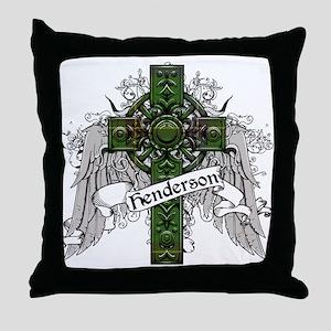 Henderson Tartan Cross Throw Pillow