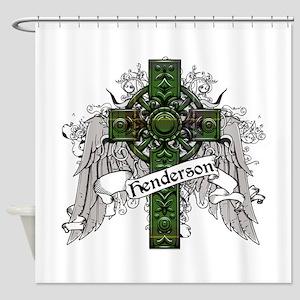 Henderson Tartan Cross Shower Curtain