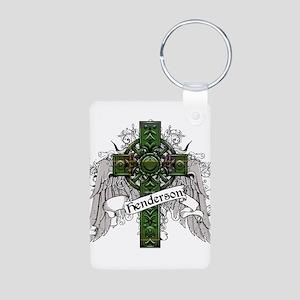Henderson Tartan Cross Aluminum Photo Keychain