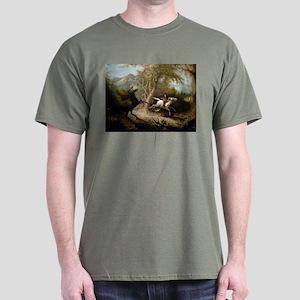 John Quidor Headless Horseman Dark T-Shirt
