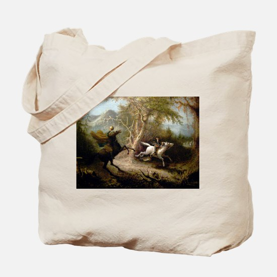 John Quidor Headless Horseman Tote Bag