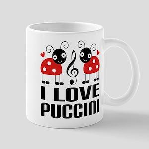 I Love Puccini Opera Ladybug Mug