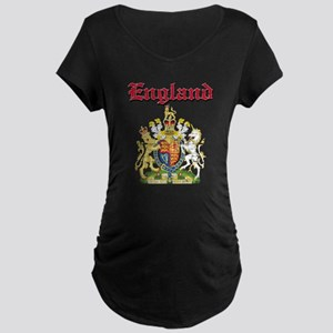 England Coat of arms Maternity Dark T-Shirt
