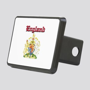 England Coat of arms Rectangular Hitch Cover
