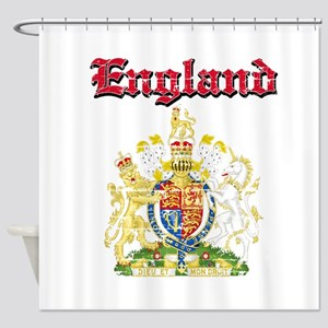 England Coat of arms Shower Curtain