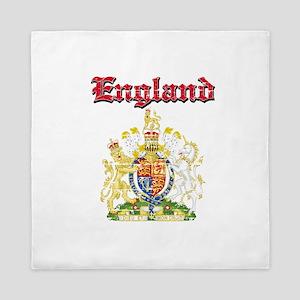 England Coat of arms Queen Duvet