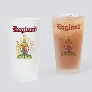 England Coat of arms Drinking Glass