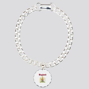 England Coat of arms Charm Bracelet, One Charm