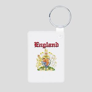 England Coat of arms Aluminum Photo Keychain