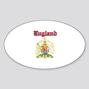 England Coat of arms Sticker (Oval)
