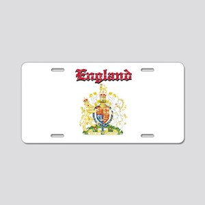 England Coat of arms Aluminum License Plate