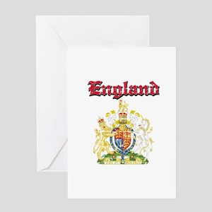 England Coat of arms Greeting Card