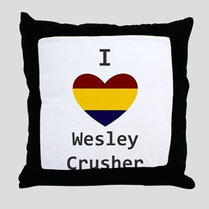 Crusher Love Throw Pillow