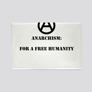 For A Free Humanity Rectangle Magnet (10 pack)