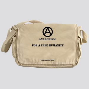 For A Free Humanity Messenger Bag
