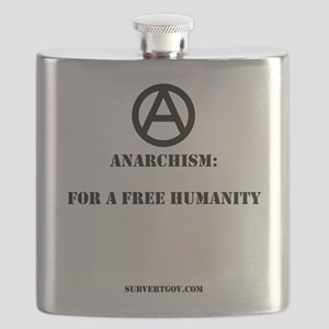 For A Free Humanity Flask