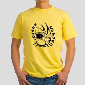 SHARK HUNTER Yellow T-Shirt