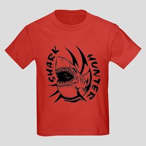 SHARK HUNTER Kids Dark T-Shirt