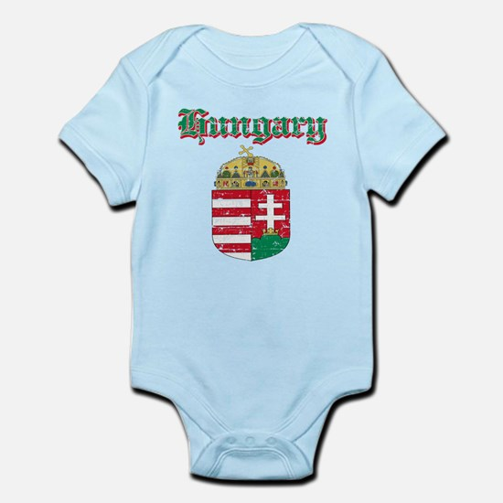 Hungary Coat of arms Infant Bodysuit