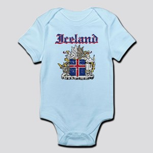 Iceland Coat of arms Infant Bodysuit