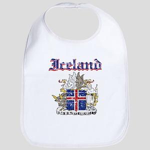 Iceland Coat of arms Bib